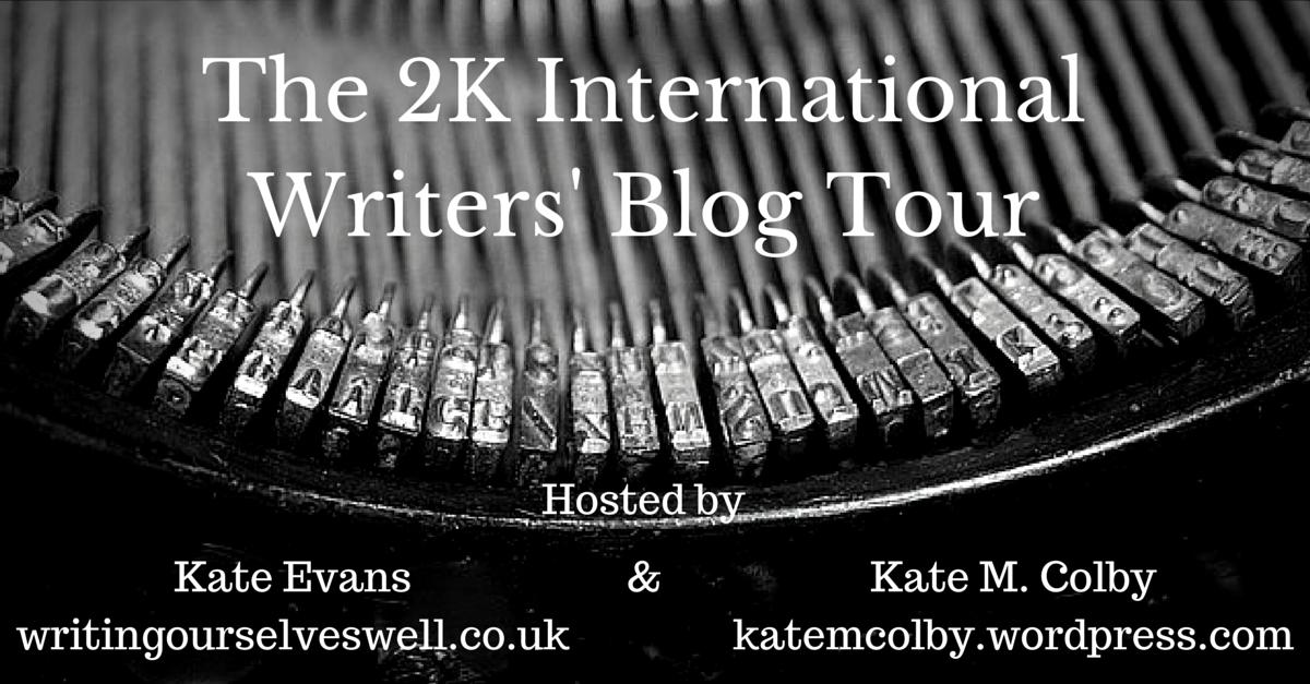 The 2K International Writers' Blog Tour – Suzanne M.Brazil